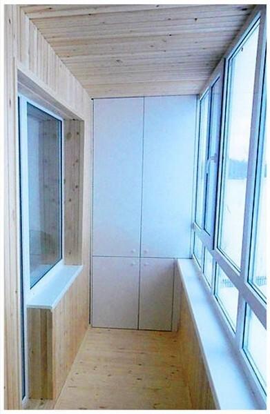 встроенные шкафы на балкон и лоджию фото